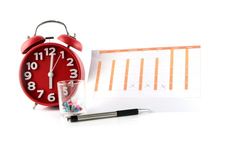 生理用ナプキンと月経周期カレンダー