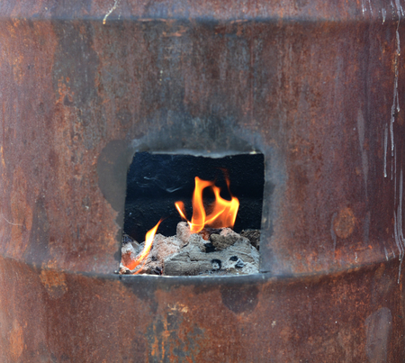 woodfired: Incinerator
