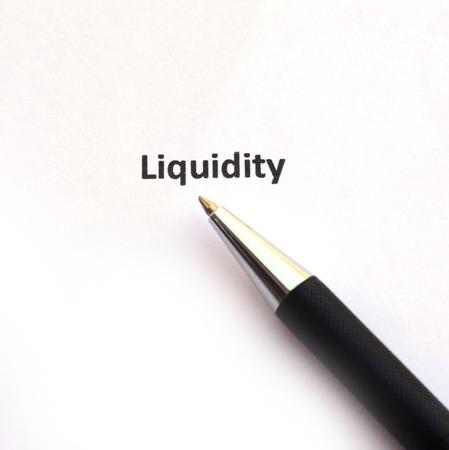 liquidity: Liquidity with pen