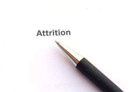 attrition: Attrition with pen