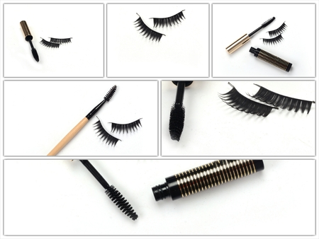 black mascara stroke isolated Stock Photo - 24033627
