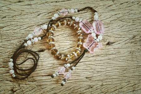 necklace with gem photo