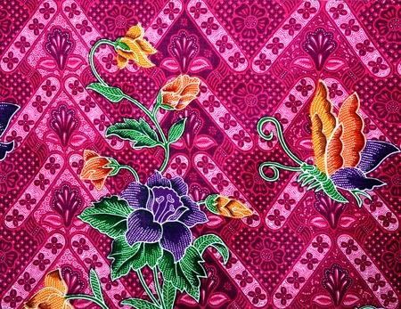 Beautiful batik patterns