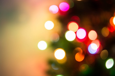 desfocado luzes de natal fundo