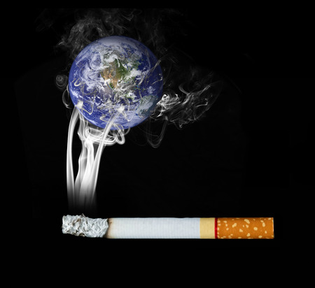 World of people smoke cigarettes.