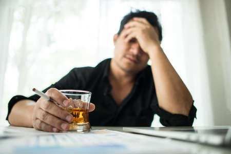 Young business people are suffering from headaches Stock fotó