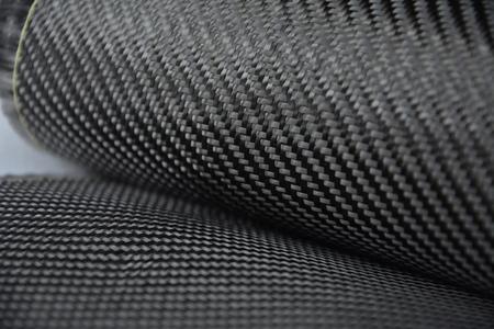 matériau sergé composite de carbone Banque d'images