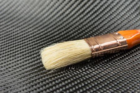 composite: carbon fiber composite material background