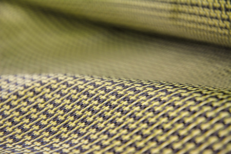 fibra de carbono: Colorful carbon fiber composite raw material background Foto de archivo
