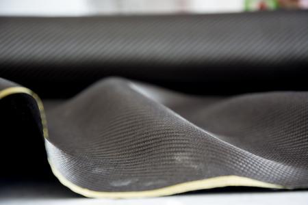 fibra carbono: negro de fibra de carbono compuesto de fondo la materia prima