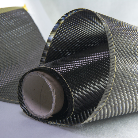 Carbon fiber composite material background Stock Photo