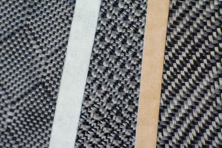 composite: Carbon fiber composite material background Stock Photo