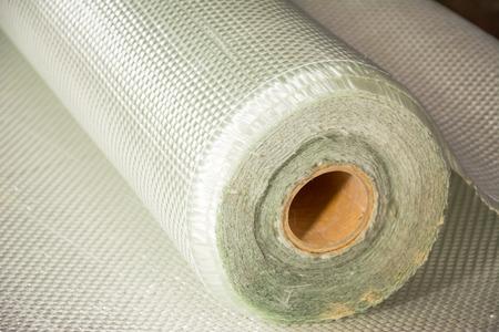 weiß Glasfaser-Verbund Rohstoff Hintergrund Standard-Bild