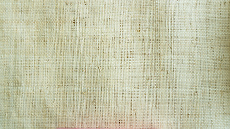 Nature fiber woven for cloth close up background
