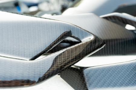 automotive part product make by carbon fiber composite