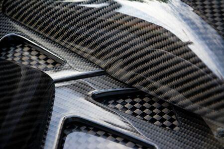 Carbon fiber composite product for motor sport and automotive racing Reklamní fotografie