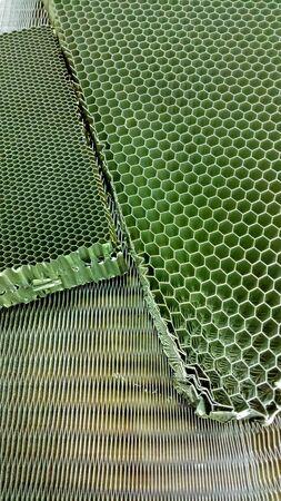 Aluminum honey comb use for fiber resin composite factory