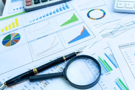 Business report statement for analysis and review market share and budget