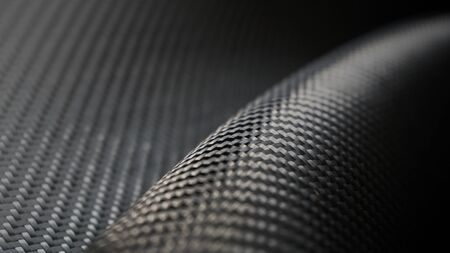 Material of composite product dark carbon fiber. industry use for make product of motor and vehicle sport. Standard-Bild