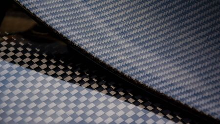 Carbon fiber composite product for motor sport and automotive racing Standard-Bild