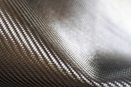 Carbon fiber black raw material composite Stock fotó