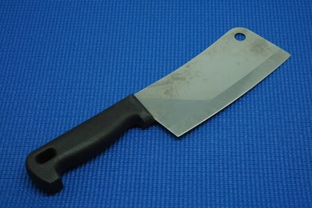 cooking implement: Kitchen knife Stock Photo