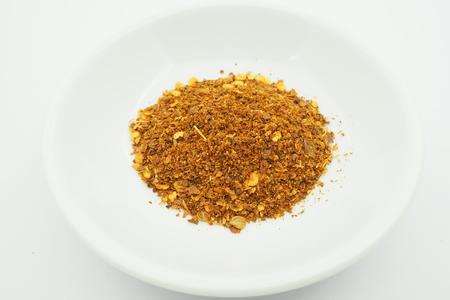 cayenne: cayenne pepper spilled Stock Photo