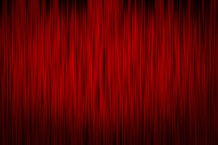 stage decoration abstract: Abstract red curtain background. Stock Photo