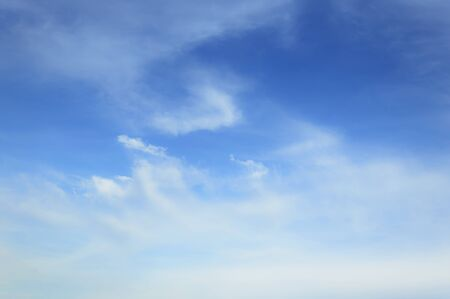 blue sky clouds: Blue sky  clouds as background