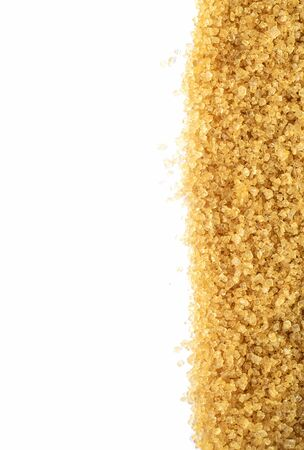 hyperglycemia: texture of brown sugar Stock Photo