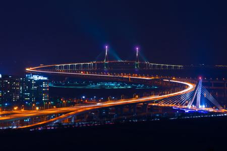 incheon: incheon bridge in korea