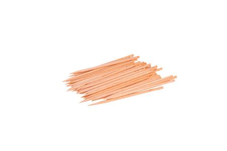 toothpick: Toothpick on  white background Stock Photo