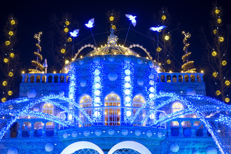 able: Christmas lights in everland