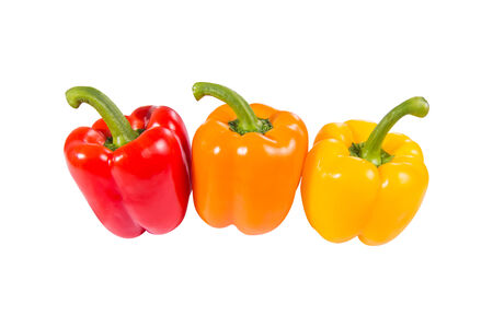 bell peppers: Colorful bell peppers