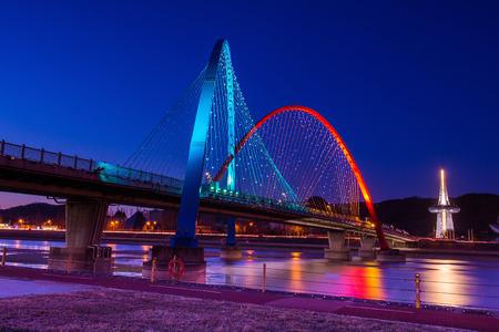 Expro bridge in daejeon,korea. Stock Photo