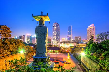 Bongeunsa Temple in Seoul, Korea. photo
