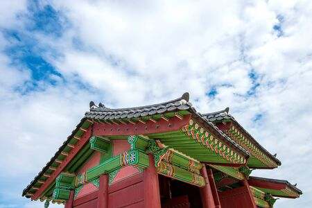 gyeongbokgung: Gyeongbokgung Palace in South Korea.