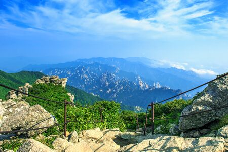 Seoraksan National Park, The best of Mountain in South Korea. Stock Photo - 43907971
