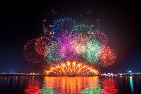 Firework festival in Korea.