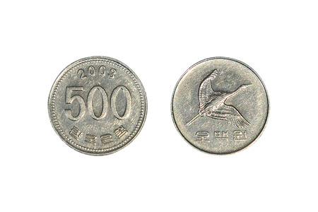 won: South Korean Won Coins