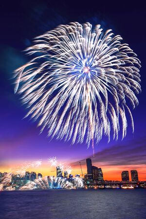 Seoul International Fireworks Festival in Korea.