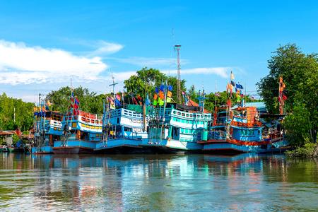 trawler net: Fishing boat