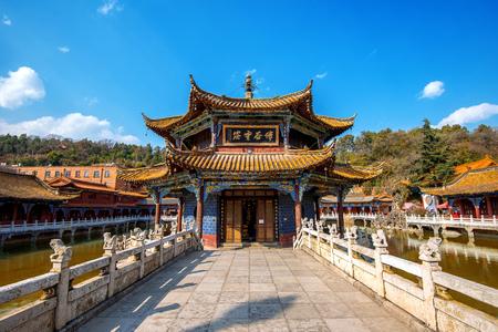 Yuantong Kunming Temple of Yunnan, China.