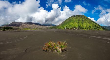Mount Bromo volcano (Gunung Bromo)in Bromo Tengger Semeru National Park, East Java, Indonesia.