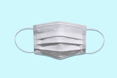 Medical protective mask isolated