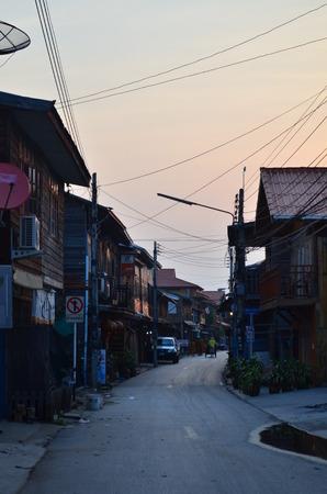 khan: The village Chiang Khan in Thailand Loei District, Chiang Khan