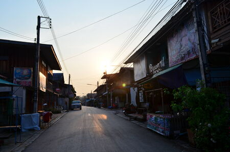 loei: The village Chiang Khan in Thailand Loei District, Chiang Khan