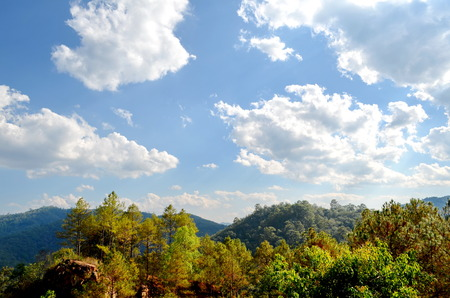 Stock Photo - Mae Hong Son, Pai, Thailand , Landscape in pai , Northern Thailand photo