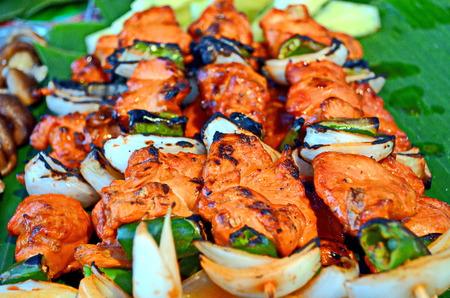 Stock Photo - Mae Hong Son, Pai, Thailand , Thai barbecue photo