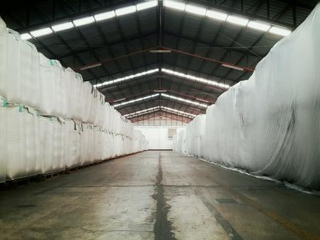 industrial: Big bag in warehouse